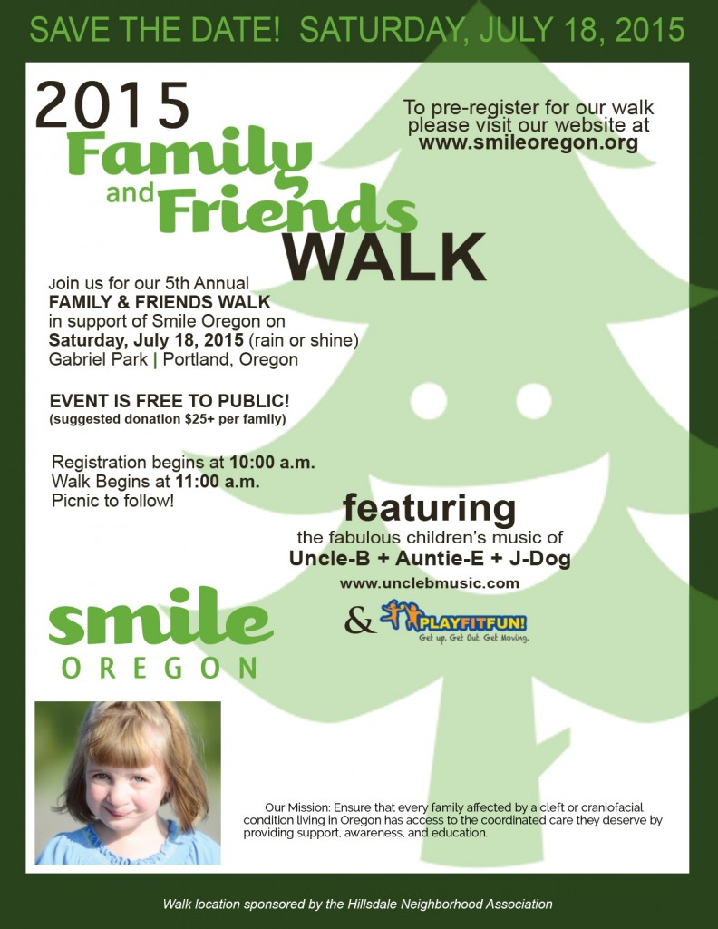 SmileOregon2015WalkFlyer